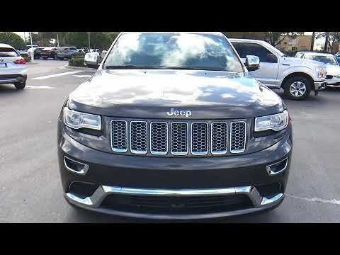 2015 Jeep Grand Cherokee Summit in Winter Park FL 32789