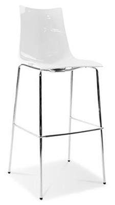 Zebra  Modern Plastic High Bar Stool 80cm in White - AU$259 u2013   sc 1 st  Pinterest & The 25+ best High bar stools ideas on Pinterest | Breakfast bar ... islam-shia.org