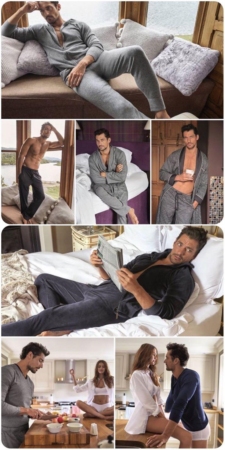 David Gandy, Men's Fashion, Male Model, Good Looking, Beautiful Man, Guy, Handsome, Hot, Sexy, Eye Candy, Muscle, Abs, Six Pack デイビッド・ガンディ メンズファッション 男性モデル