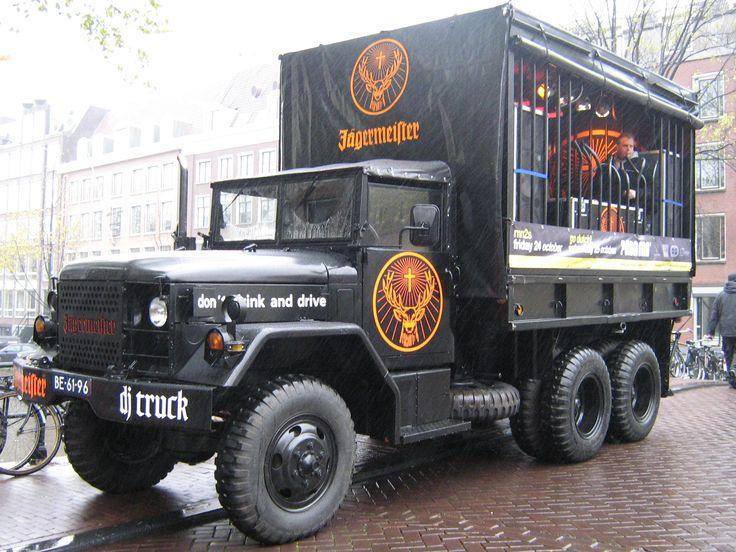 Jagermeister Dj Truck Marina Pinterest Trucks