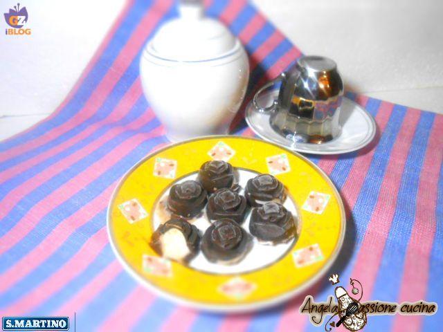 Cioccolatini+fondenti+gusto+caprese+al+limone