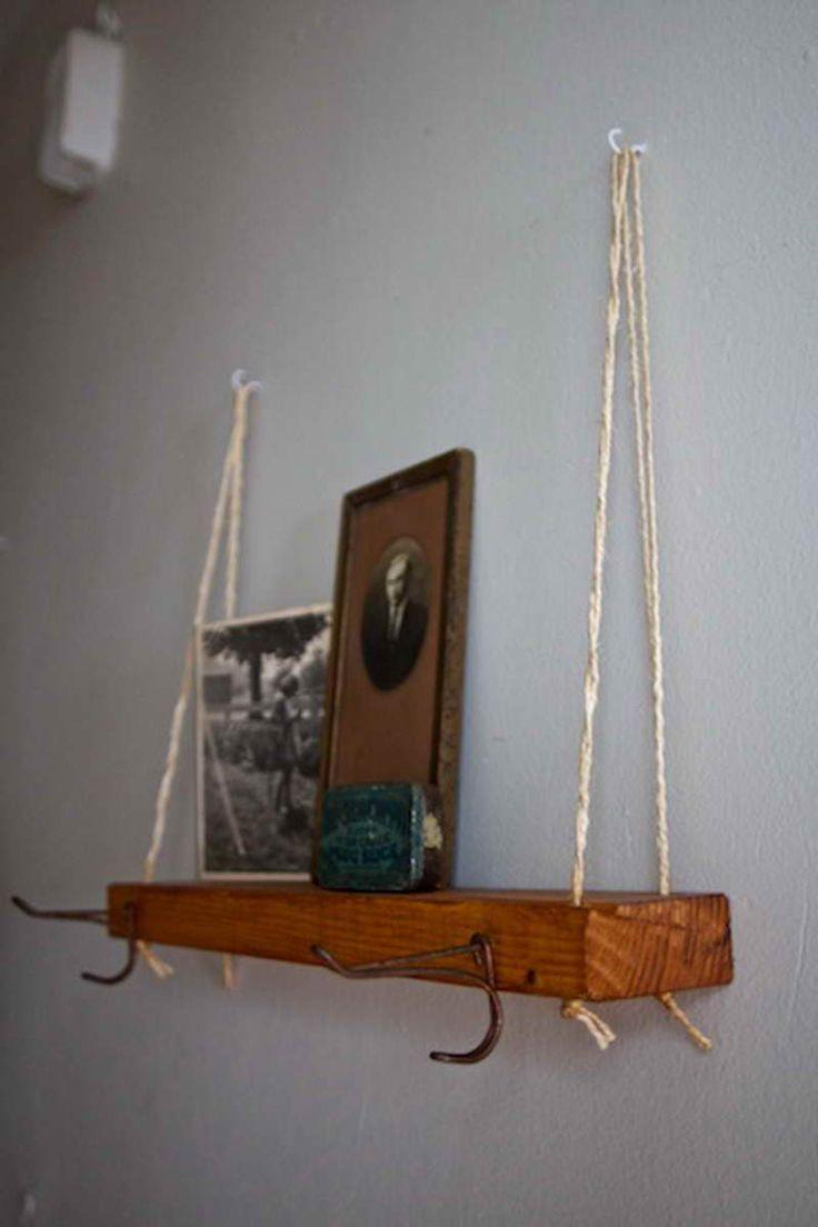 best 25 hanging bookshelves ideas on pinterest wall. Black Bedroom Furniture Sets. Home Design Ideas