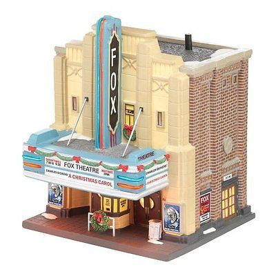 Christmas Collectible Department 56: Department 56 Christmas In The City Village The Fox Theatre Lit House 8.27In -> BUY IT NOW ONLY: $90.26 on eBay!