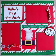 Image result for christmas scrapbook page