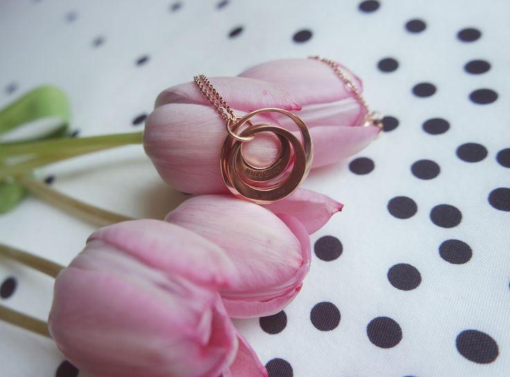 naszyjnik, necklace, soufeel, tulipany, biżuteria,