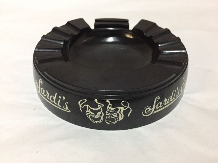 Sardi's East Restaurant New York City Ashtray Theater District Souvenir