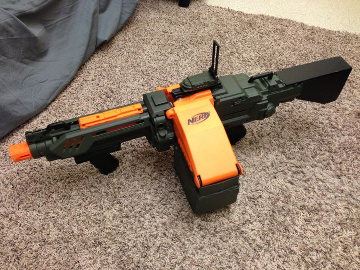 A gallery to display JSI Nerf gun mods/modifications