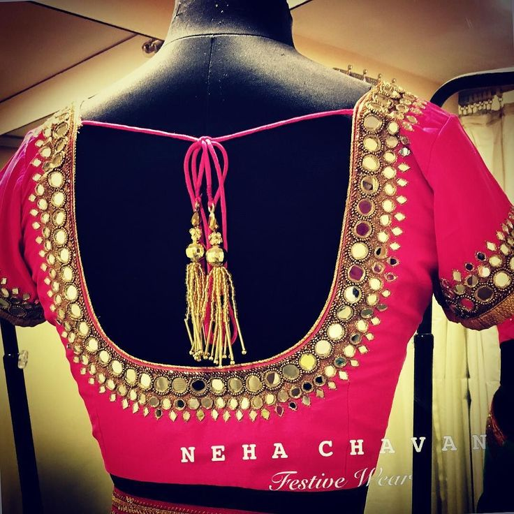 Beautiful mirror work blouse  Get in touch for enquiries and purchase on fashion@nehachavan.com or drop in your email id in the comment below and we will get back to you soon. This product can be customised. We deliver worldwide. #NC #NehaChavan #fashion #designer #designerwear #picoftheday #pretty #indianblouse #mirrorembroidery #indianembroidery #indianwear #festivewear #bridalwear #sariblouse #contactus #picoftheday #instalike #instalove #instapic #tagsforlikes #loveforpink