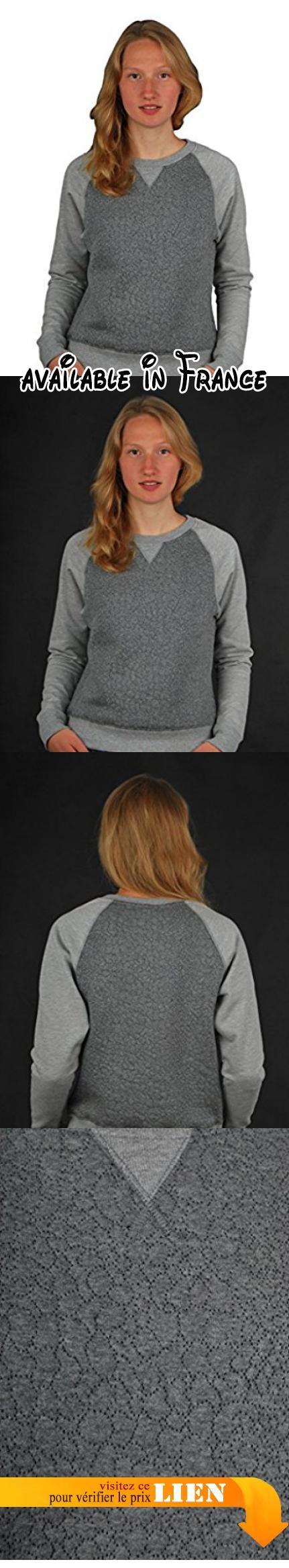 Cleptomanicx Free Sweater Heather Gray Gr. M. Cleptomanicx Free Sweater Heather Gray Gr. M #Sports #APPAREL
