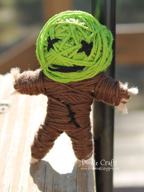 1000 ideas about string voodoo dolls on pinterest for Stuff to make with string
