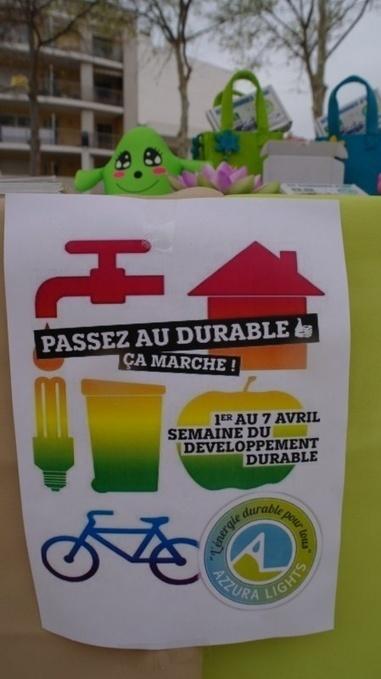 Semaine du Développement Durable, Azzura Lights® à Cagnes sur Mer et à Nice. © Azzura Lights - Tous Droits Réservés.