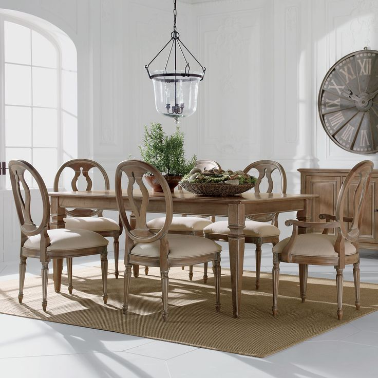 Neutral Interiors Ethan Allen Neutral Dining Room Avery