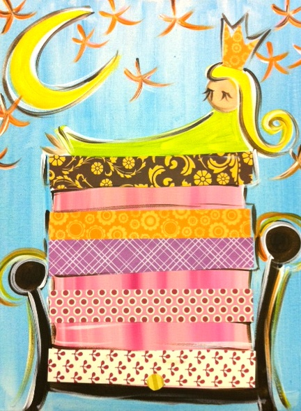 Princess and the Pea - I LOVE this for little ones.