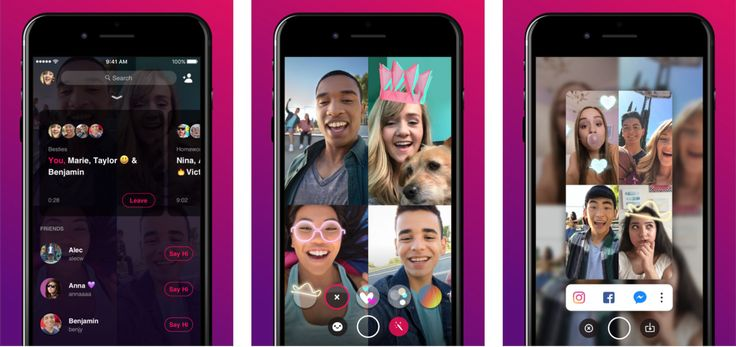 Facebook tests Bonfire group video chat as app and inMessenger