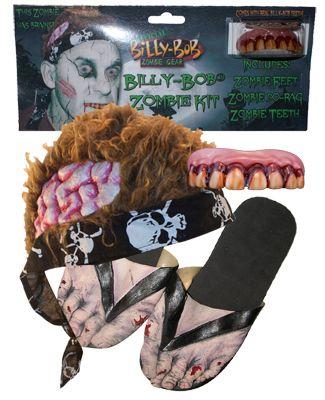 Halloween Billy Bob Zombie Kit - AZ PARTY