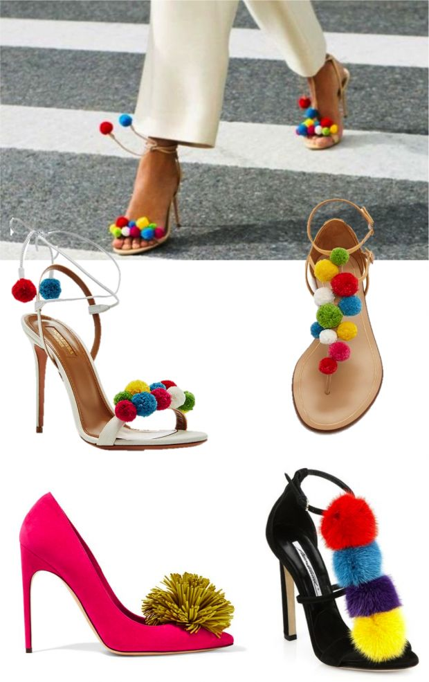 No verão 2017 eu quero usar sapatos com penduricalhos! - Fashionismo
