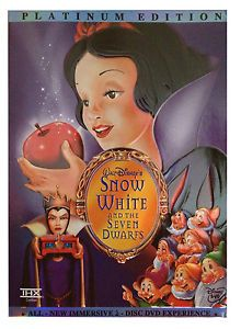 Snow White and the Seven Dwarfs Walt Disney's Platinum Edition DVD Please check out all our rare value priced Magic tricks & Books at: http://stores.ebay.com/webrummage