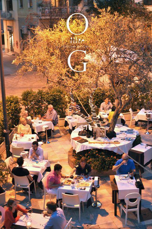 Restaurant summer terrace / Photo by Irina Eller / irinaeller.com #wine #food #italy #restaurant #sardinia #sardegna #olbia #summer
