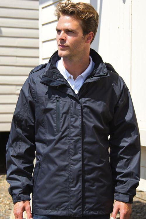 Jachetă 3-in-1 Journey Result: Jachetă 3-in-1 de bărbați cu jachetă softshell detaşabilă din 2 straturi