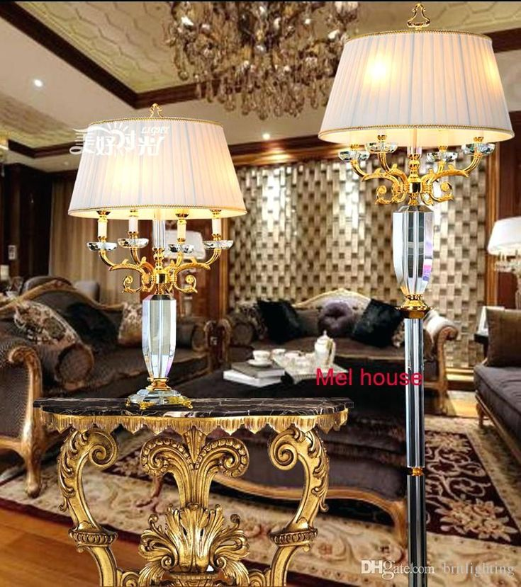 Crystal Floor Lamp, Decorative Lamps For Living Room