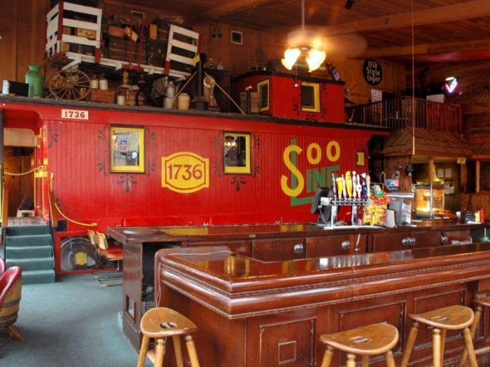 The Train Themed Restaurant In Minnesota Choo Choo Restaurant And Bar Is Perfectly Whimsical Unique Restaurants Minnesota Places To Eat