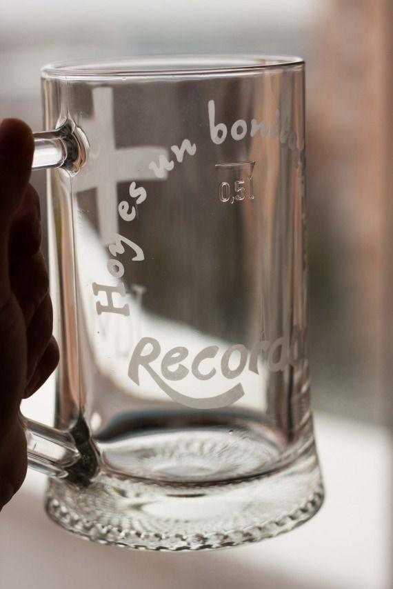 Jarras de cerveza personalizadas, Otros, Personalizados, Otros, Curioso, Vidrio, Decoración, Fechas señaladas, Navidad, Fechas señaladas, Sa...