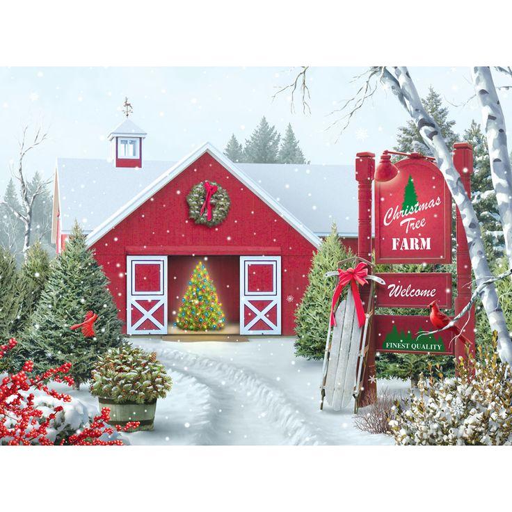 - Christmas Tree Farm 500 Piece Jigsaw Puzzle