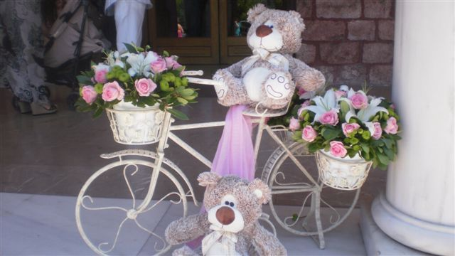 lovely #decoration#idea for girl baptism
