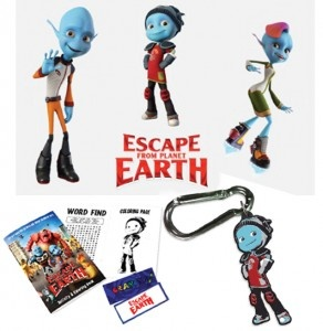 Escape From Planet Earth Prize Pack & $25 Visa Gift Card Giveaway | Ends 2.8.13