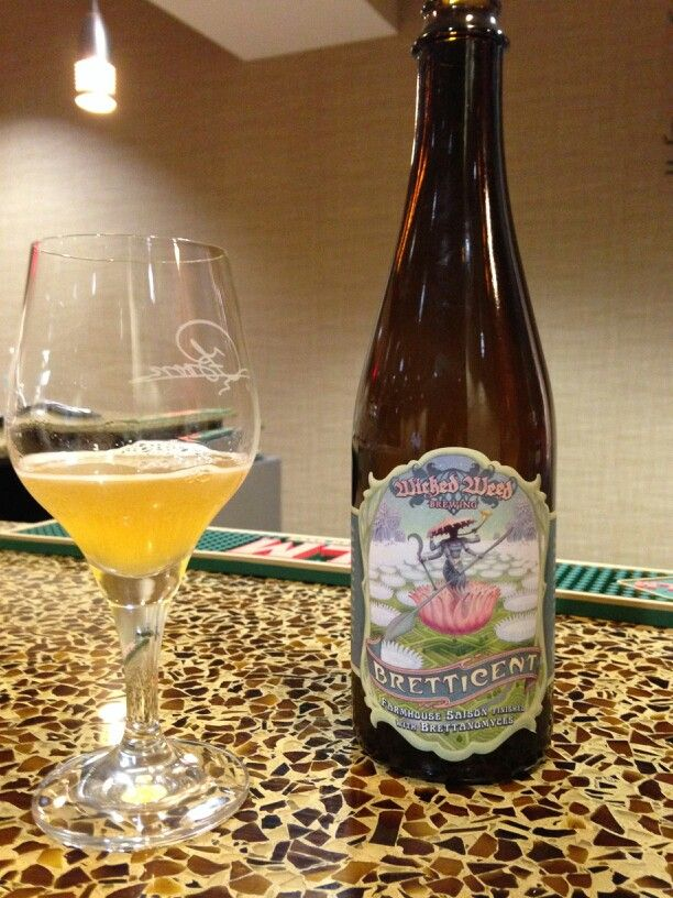 Wicked Weed Saison Farmhouse Ale My Beer List Pinterest
