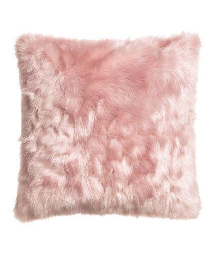 Faux fur cushion cover | Product Detail | H&M