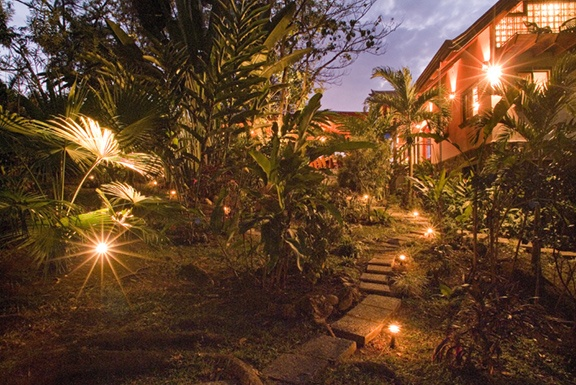 Evening at Casa Maravilla  http://www.manuelantoniovacationrentals.com/properties/villa-1