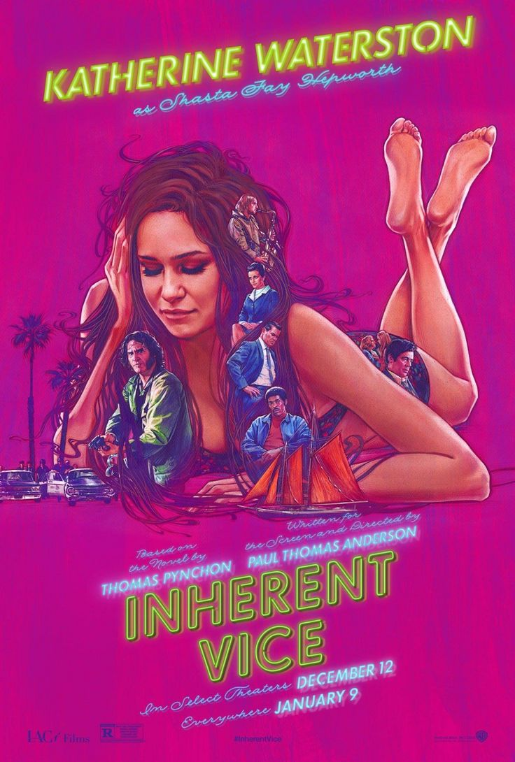 Inherent Vice - 2014 - Movie Poster - Katherine Waterston