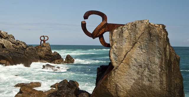 El Peine del Viento XV, Chillida, via Flickr