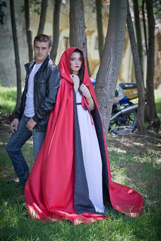 Red Riding Hood conceptual photoshoot