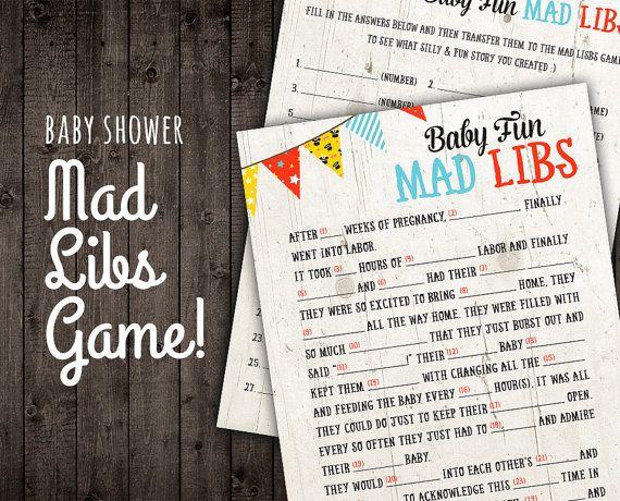 bridal shower mad libs pdf