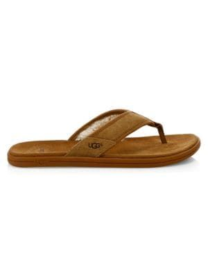 7c6ae1c52 UGG Seaside Suede Flip-Flops.  ugg  shoes