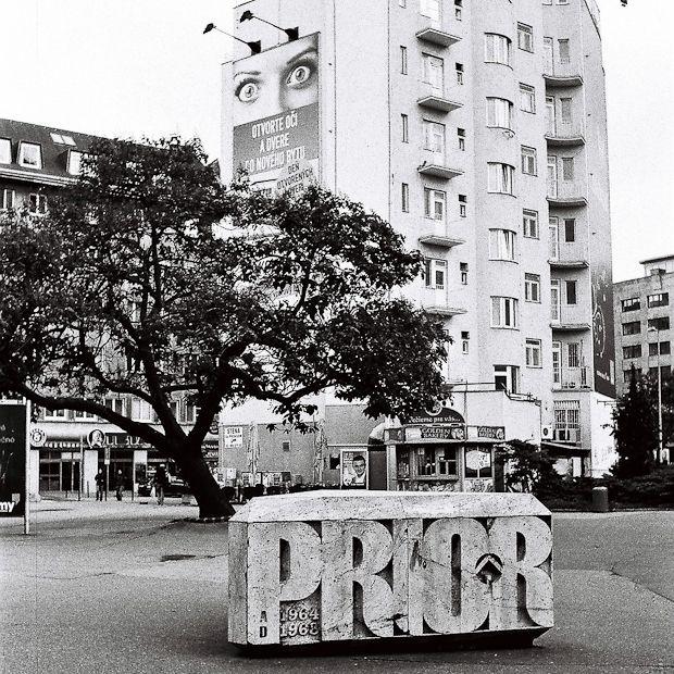 prior soviet sculpture bratislava (Prior/Tesco/Kiev Hotel)