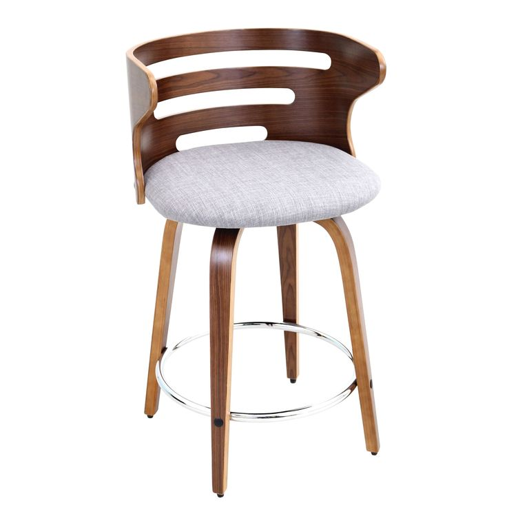 Inspired By Mid Century Modern Designs, This Chic Bar Stool Will Add A Dash  Of Amazing Pictures
