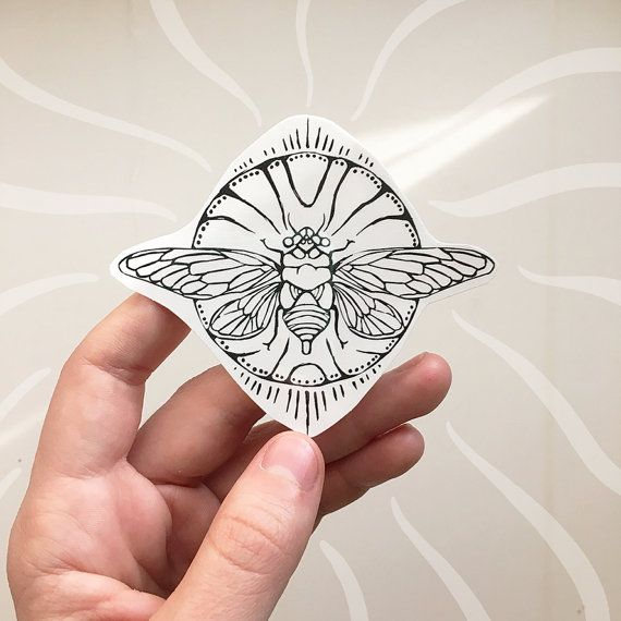 Hey, I found this really awesome Etsy listing at https://www.etsy.com/listing/264281572/cicada-temporary-tattoo-black-line