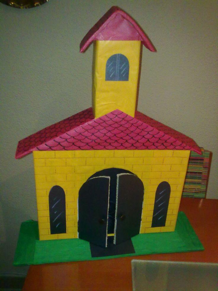 Otro Modelo De Iglesia En Miniatura Para Que Los Ni 241 Os