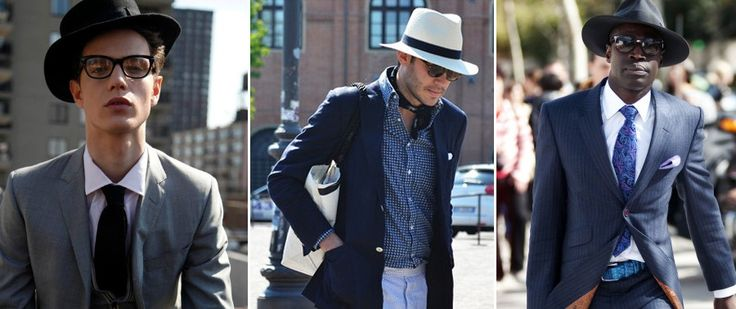 파크랜드 블로그 :: 남자 모자의 종류와 여름 모자 코디법 추천_페도라/보터/파나마/보울러/탑/홈버그