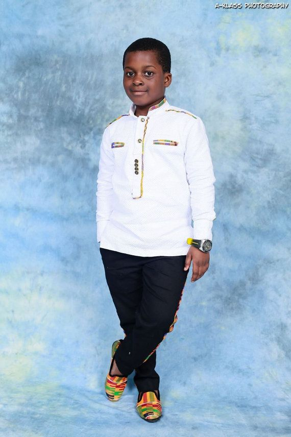 Trendy Africa Kids Designs With A Touch Of Kente By