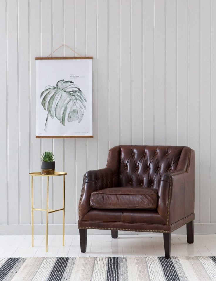 Vintage Leather Button Stud Chair Buy Online Now From Rose Grey Eclectic Home Accessories And Stylish Furniture For Vintage And Modern Living