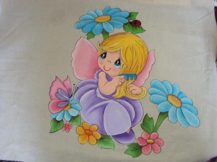 104 mejores im genes sobre dibujos en tela en pinterest - Telas con dibujos infantiles ...