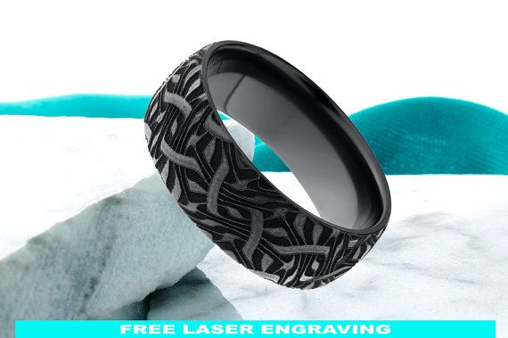 Black Zirconium  Black Zirconium is a natural element found on earth. It is bio-compatible, non-toxic.Black Zirconium is naturally Silver colored