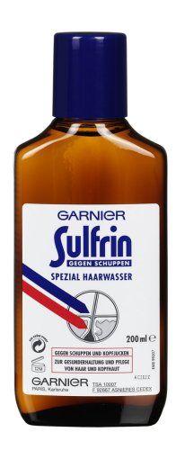 GARNIER Sulfrin Haarwasser gegen Schuppen / Haartonikum kr�ftigt das Haar 3 x 200ml