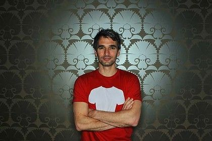 Todd Sampson of the ABC show The Gruen Transfer. - love him!