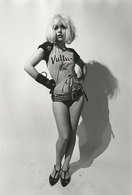 Debbie Harry, modeling for Richard Avedon and sporting a style all her own. She was sexy in a unique way. #modcloth #styleicon