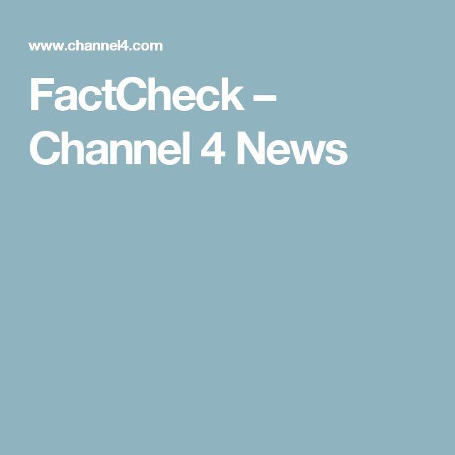 FactCheck – Channel 4 News